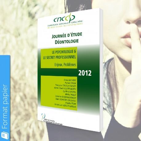 Actes CNCDP 2012 (papier) - Tarif Public