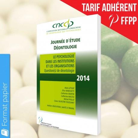 Actes CNCDP 2014 (papier) - Tarif Adhérents