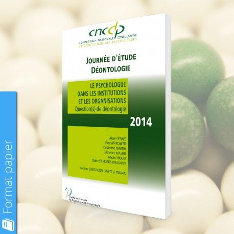 Actes CNCDP 2014 (papier) - Tarif Public